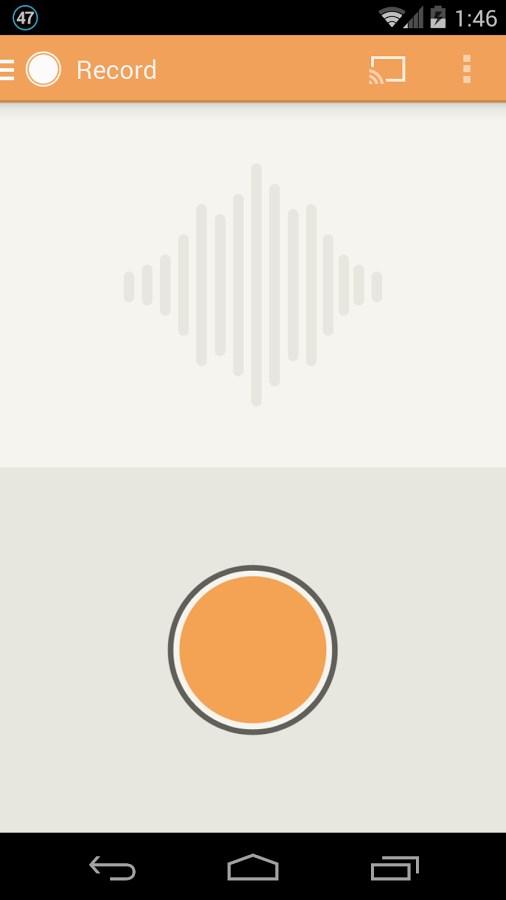Clyp - Record and Share Audio - Imagem 1 do software