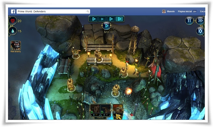 Prime World: Defenders para Facebook - Imagem 1 do software