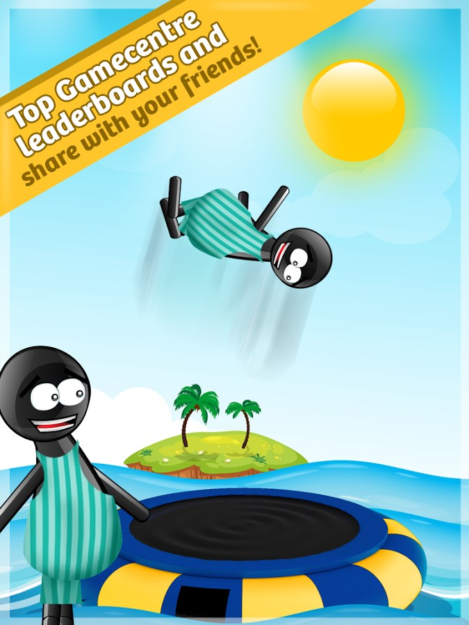Stickman Water Trampoline FREE - Imagem 2 do software