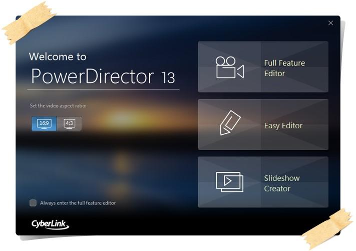 CyberLink PowerDirector - Imagem 1 do software