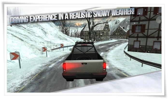 Winter Traffic Car Driving 3D - Imagem 1 do software