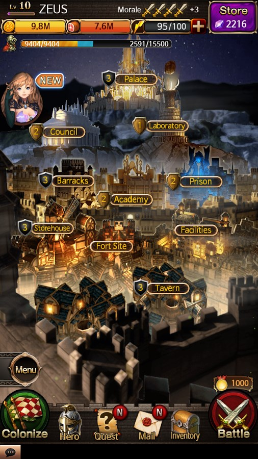 Battle for the Throne - Imagem 1 do software