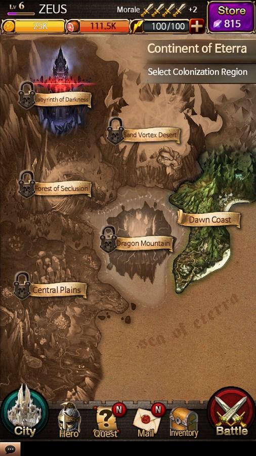 Battle for the Throne - Imagem 2 do software