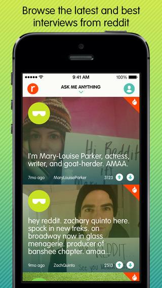 Ask Me Anything - reddit AMA - Imagem 1 do software