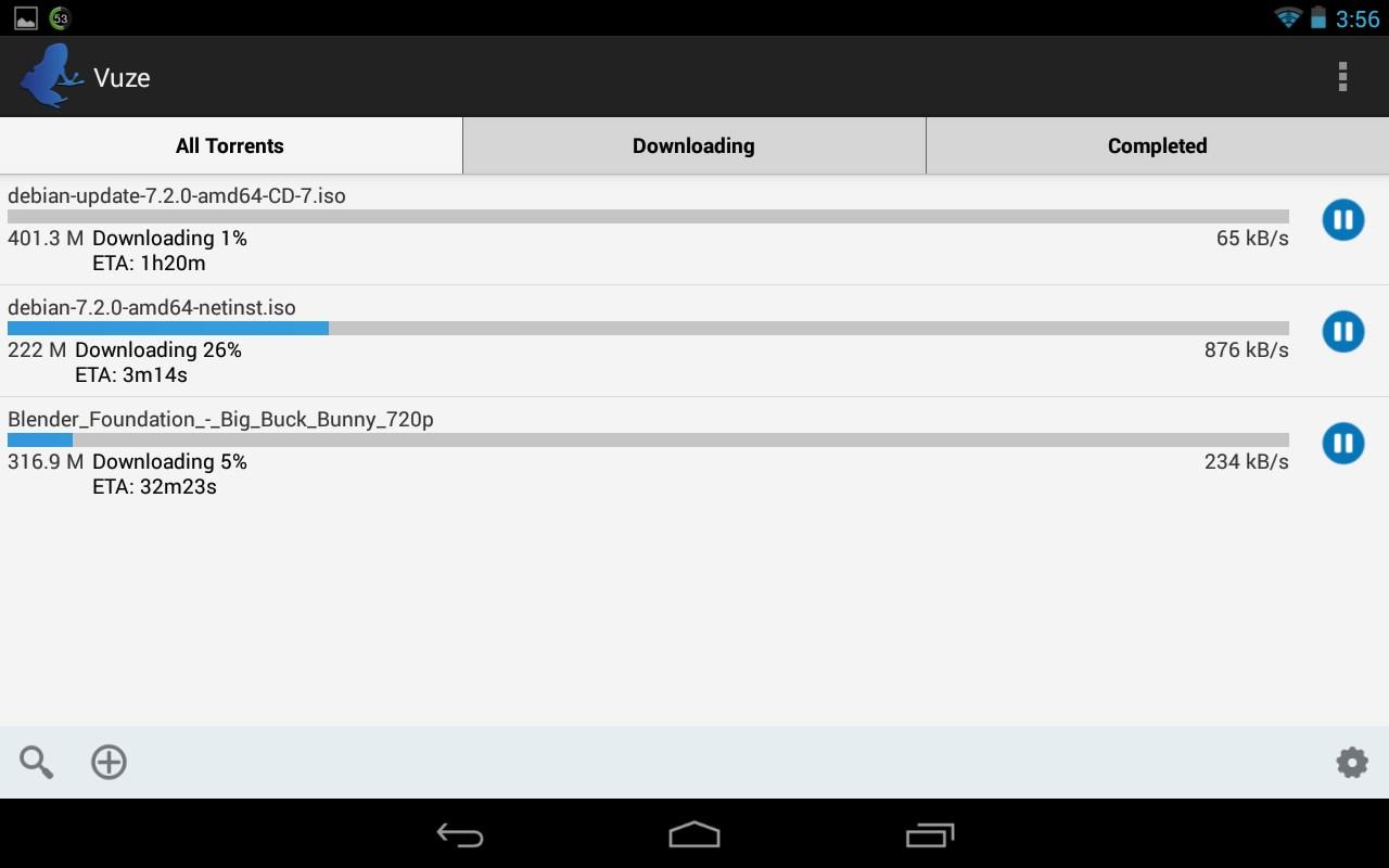 Vuze Torrent Downloader - Imagem 1 do software