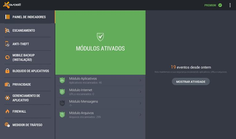 avast! Mobile Security - Imagem 1 do software