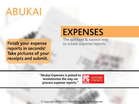 Relatórios de Despesas com ABU - Imagem 1 do software