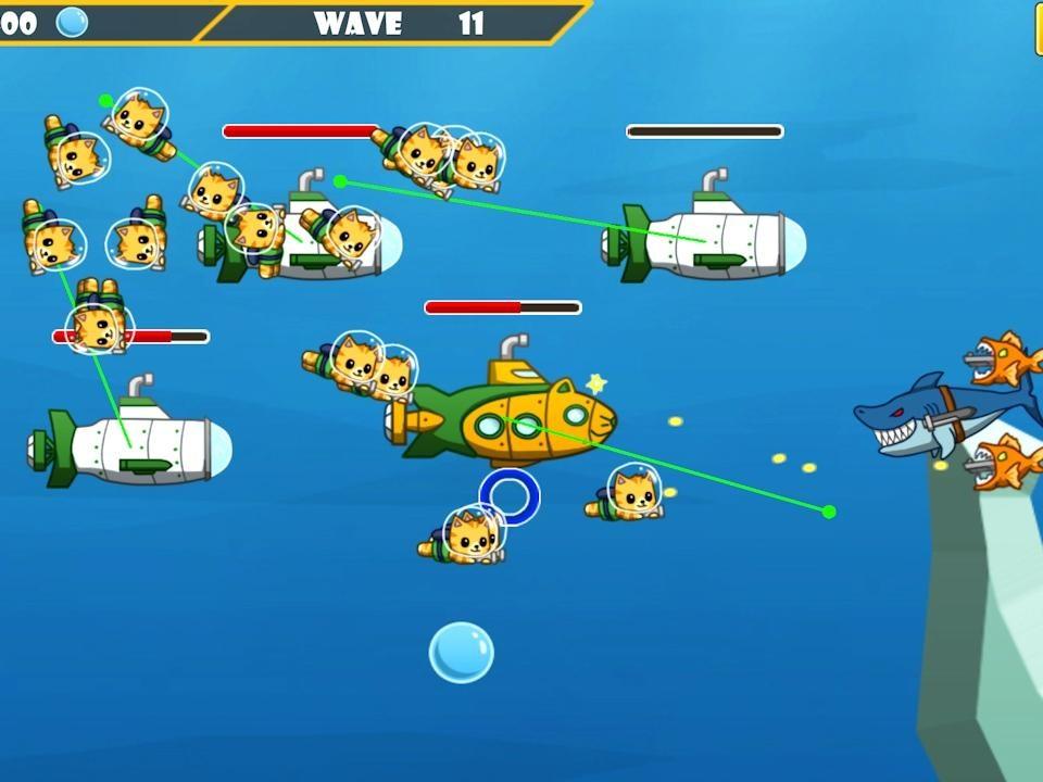 Nyan Force - Ação Submarine - Imagem 1 do software