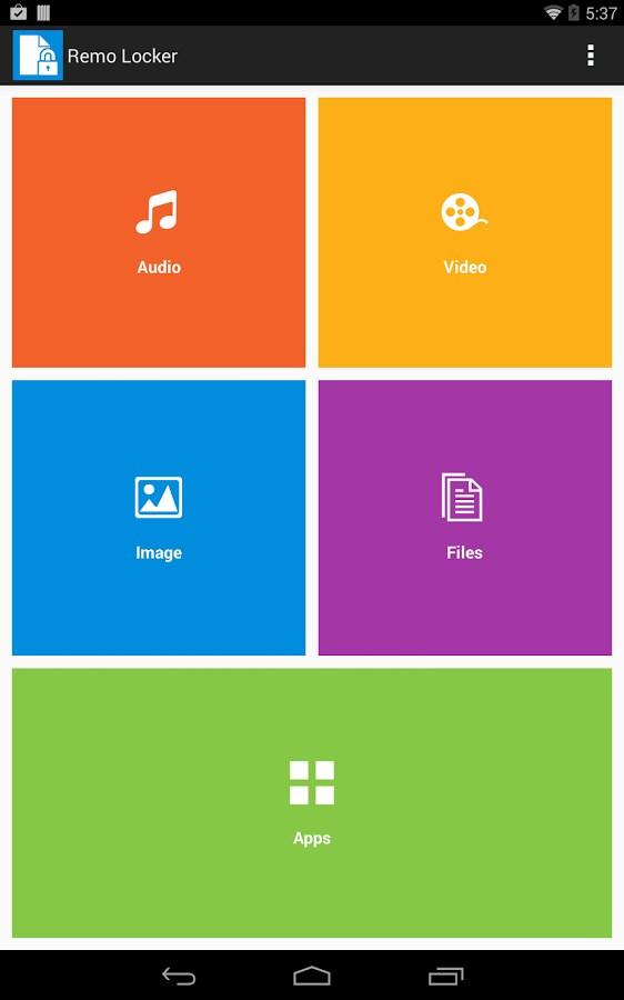 Remo Locker FREE - Imagem 2 do software