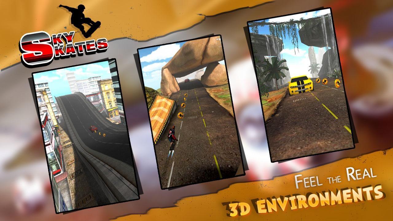 SKY SKATES 3D - Imagem 1 do software