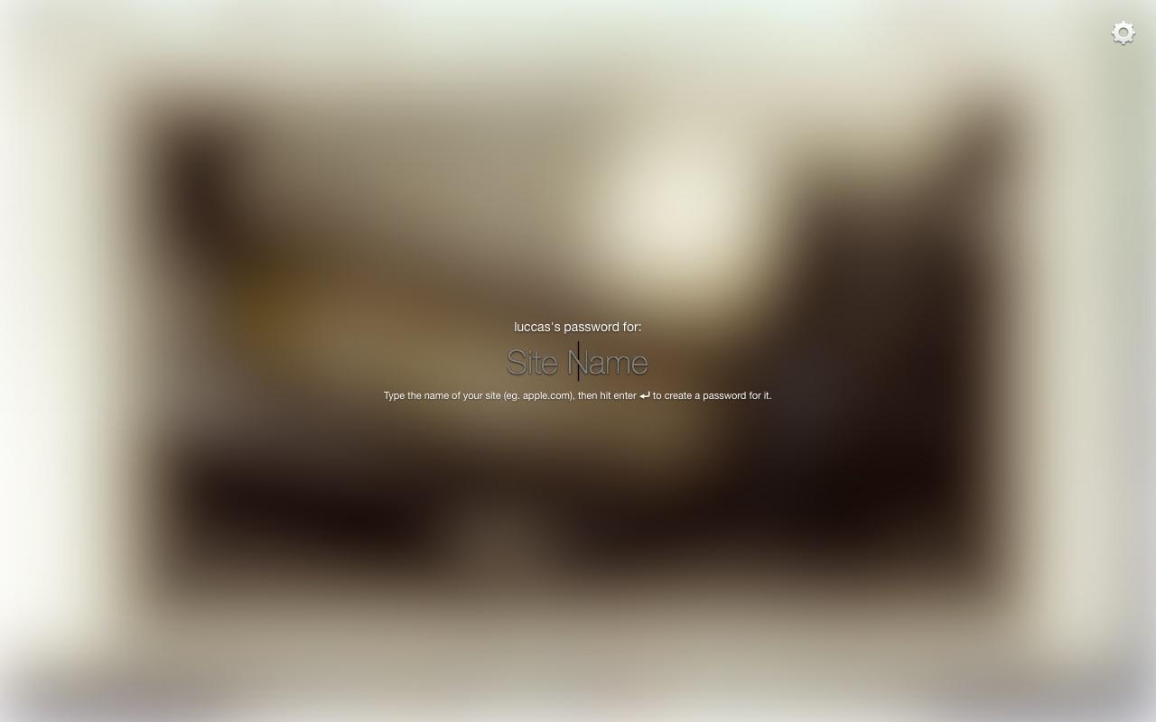 Master Password - Imagem 4 do software