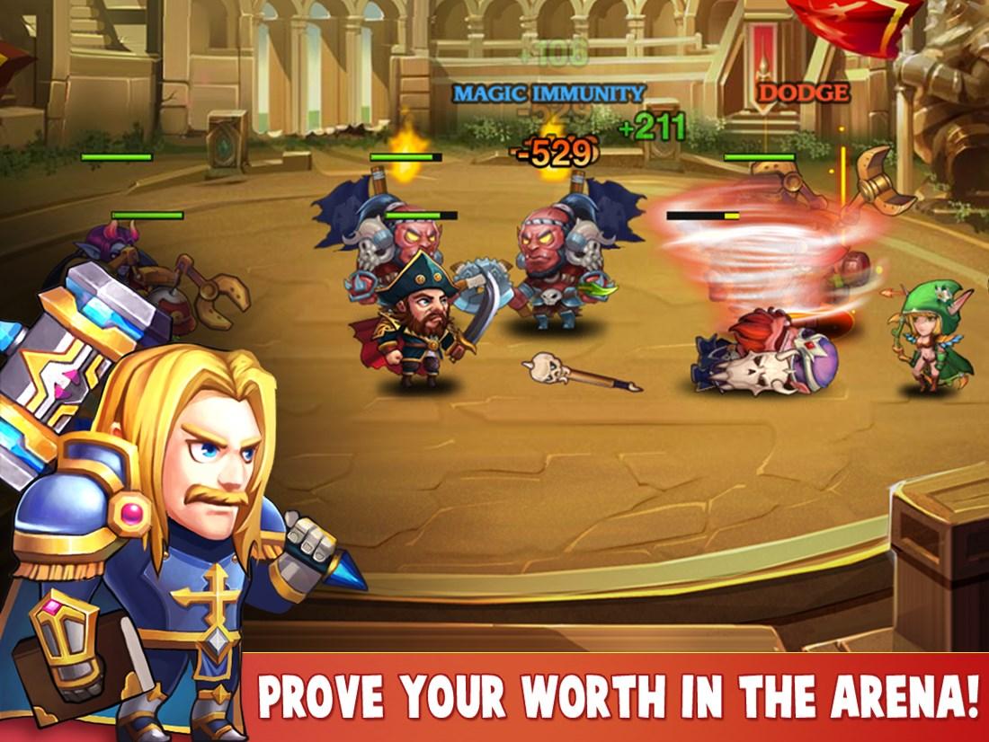 Heroes Charge - Imagem 1 do software
