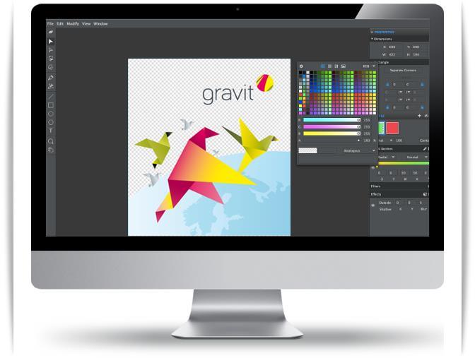 Gravit - Imagem 1 do software