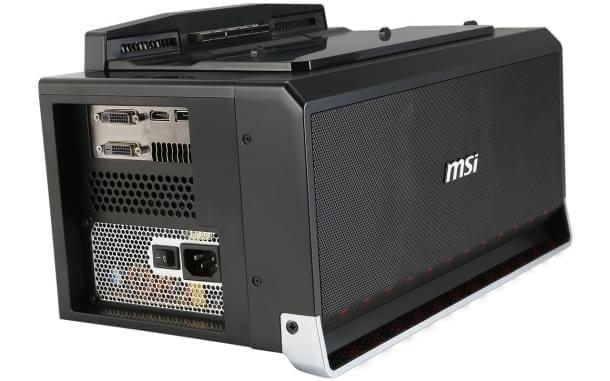 MSI traz o conjunto GS30 Shadow e Gaming Dock à CES 2015