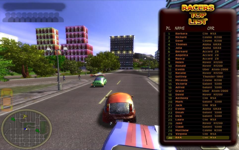 City Racing - Imagem 3 do software