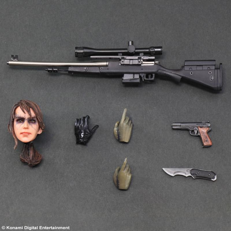 MGS V: sensual e poderosa, miniatura de Quiet ganha imagens oficiais