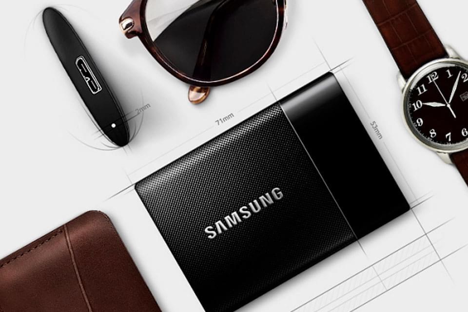 T1: Samsung apresenta o pequeno e mais poderoso SSD portátil do mundo