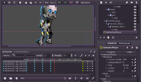 Godot Engine - Imagem 1 do software