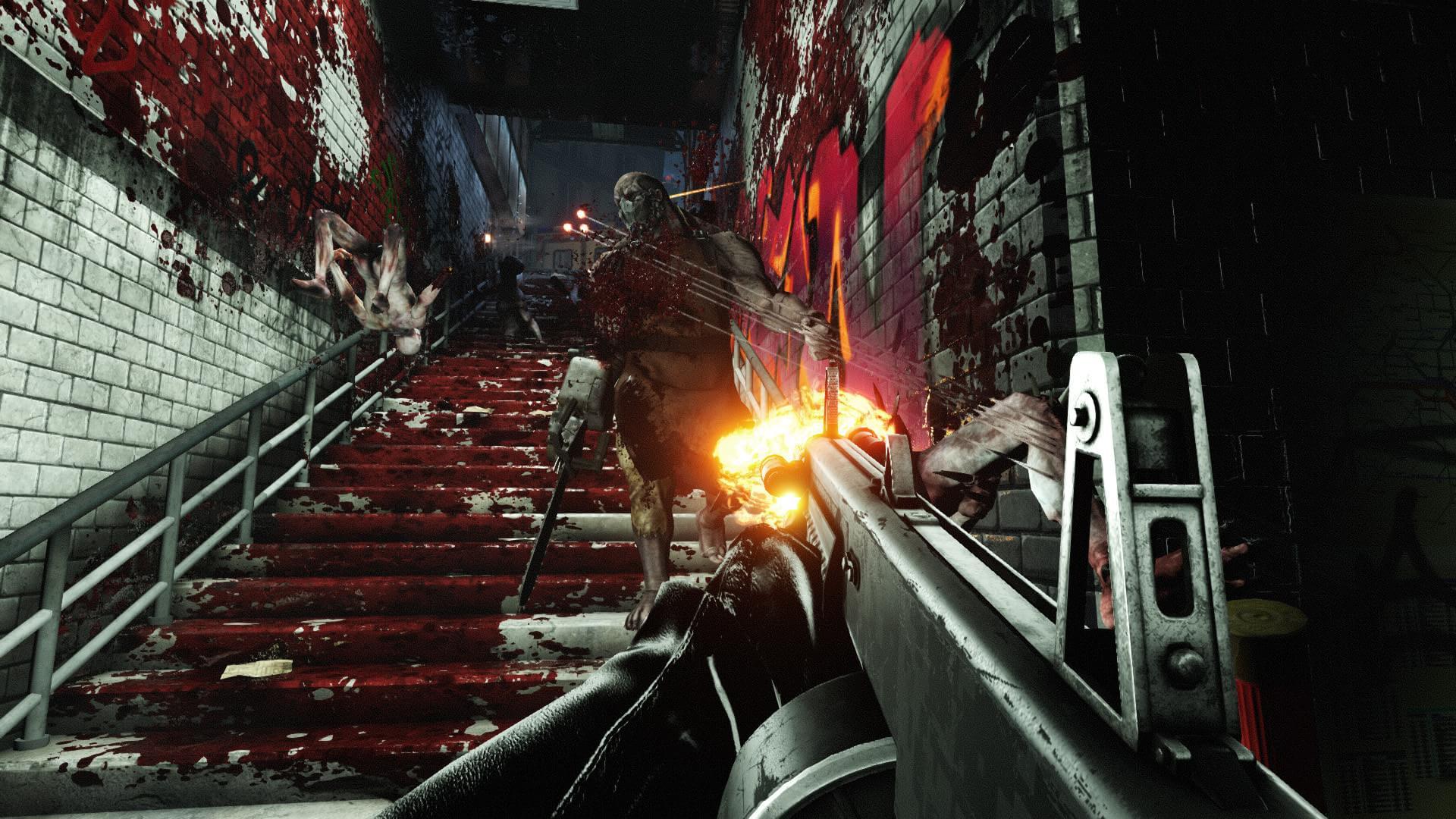 Sangue e violência nas novas imagens de Killing Floor 2