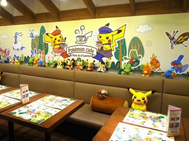 Tóquio ganha um café temático de Pokémon Omega Ruby e Alpha Sapphire