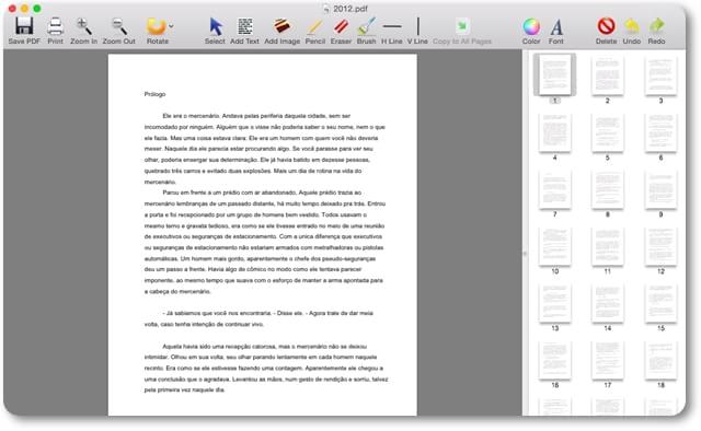 PDF Editor Mac - Imagem 1 do software