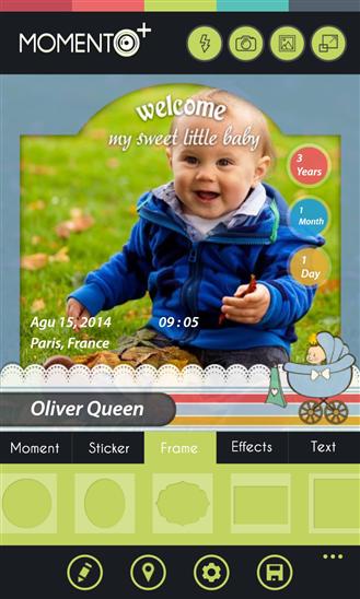 Momento+ - Imagem 1 do software