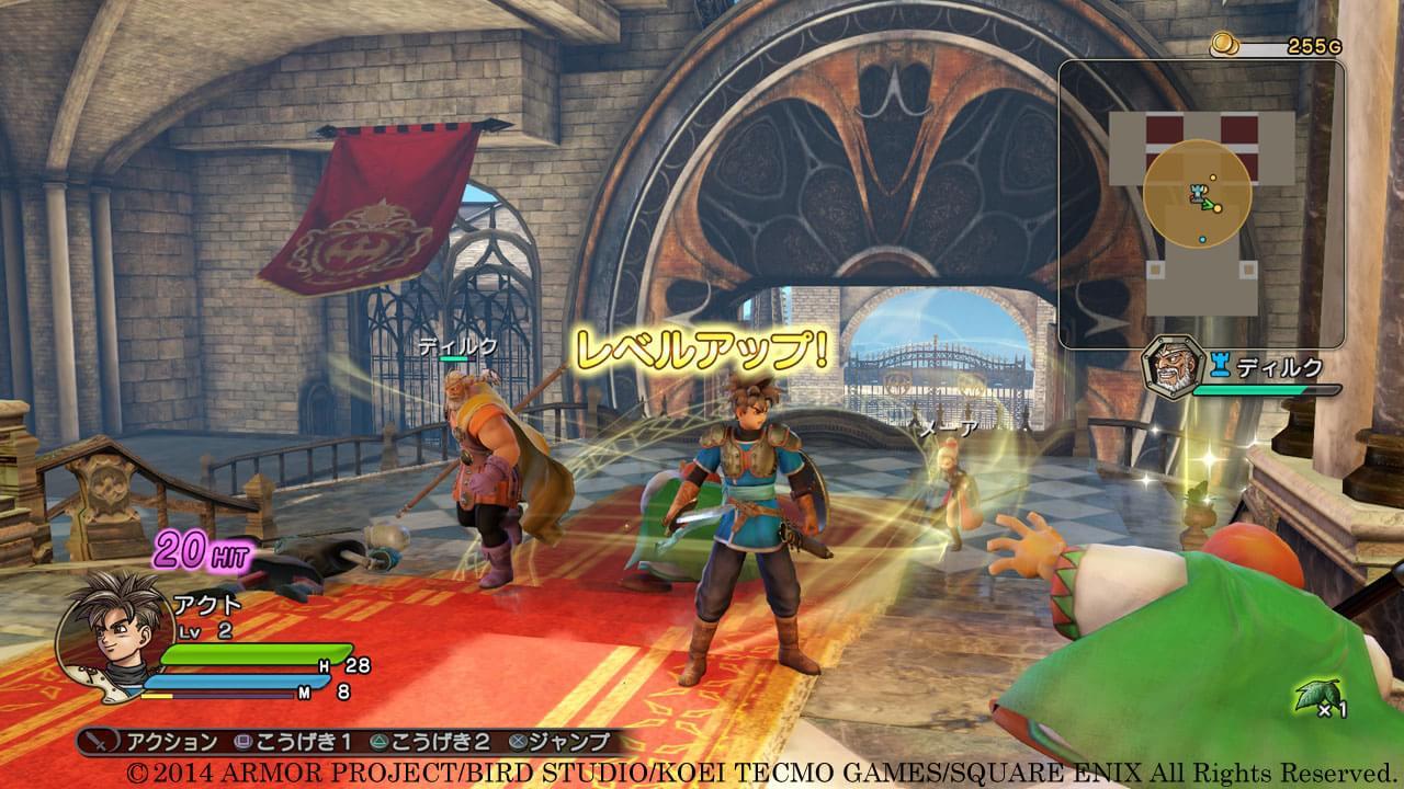 Confira as novas imagens de Dragon Quest Heroes para PS3 e PS4