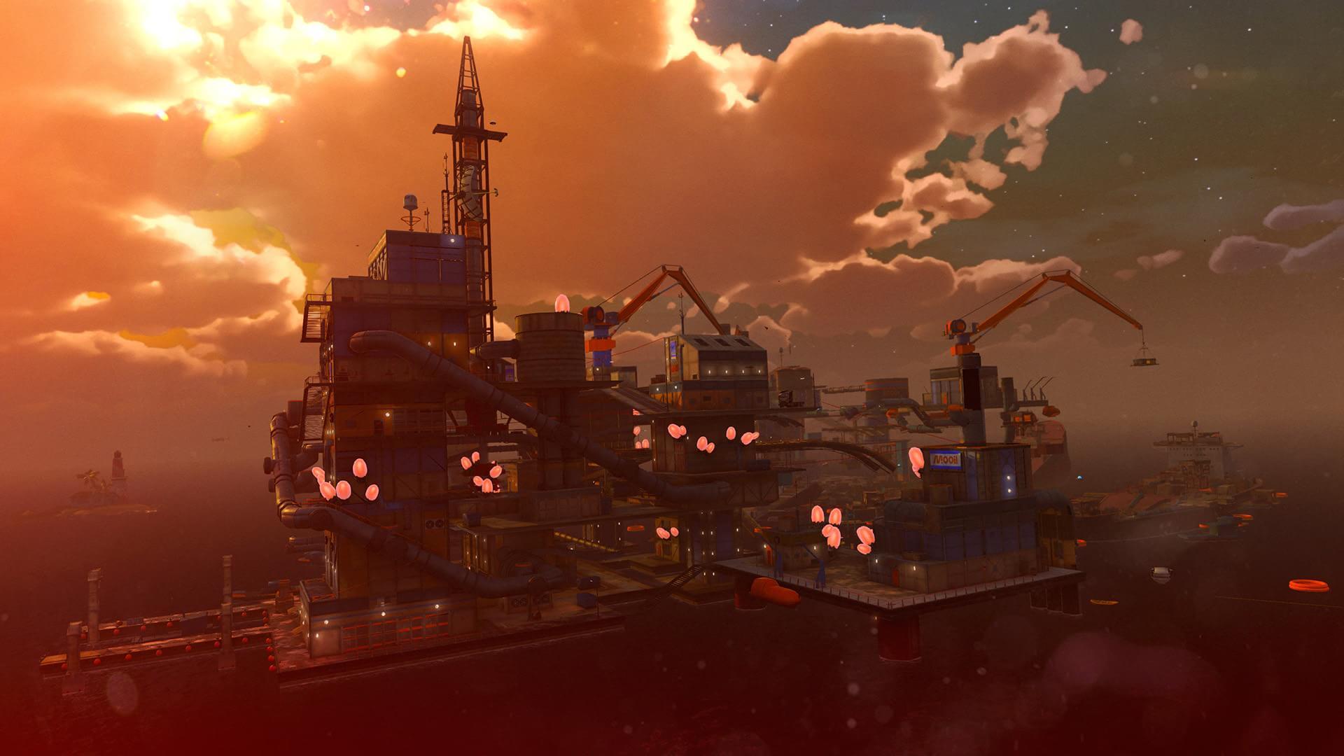 Veja as fotos e trailer da DLC The Mystery of Mooil Rig de Sunset Overdrive