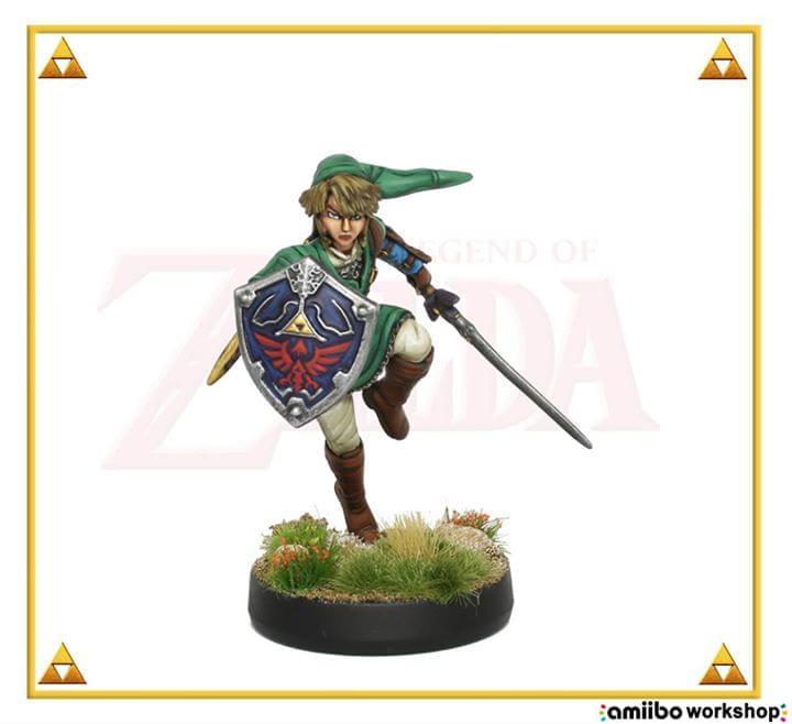 Veja como seria um Amiibo de Link em sua versão realista