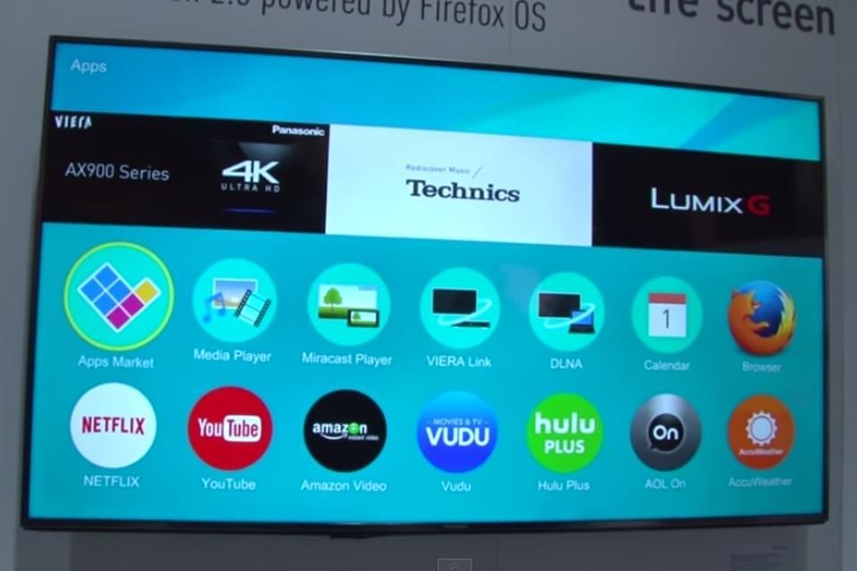 Primeiras impressões: Firefox OS nas TVs Panasonic [vídeo]