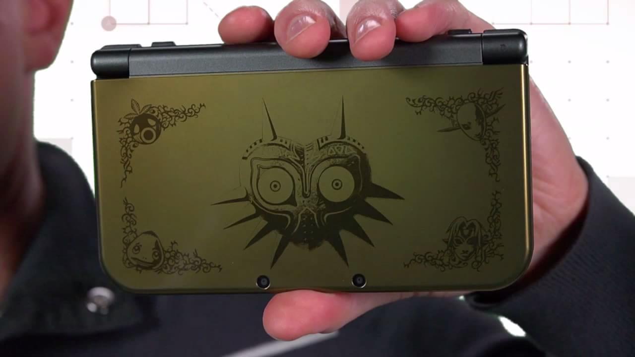 New 3DS XL ganha edição especial de Majora's Mask 3D [vídeo]