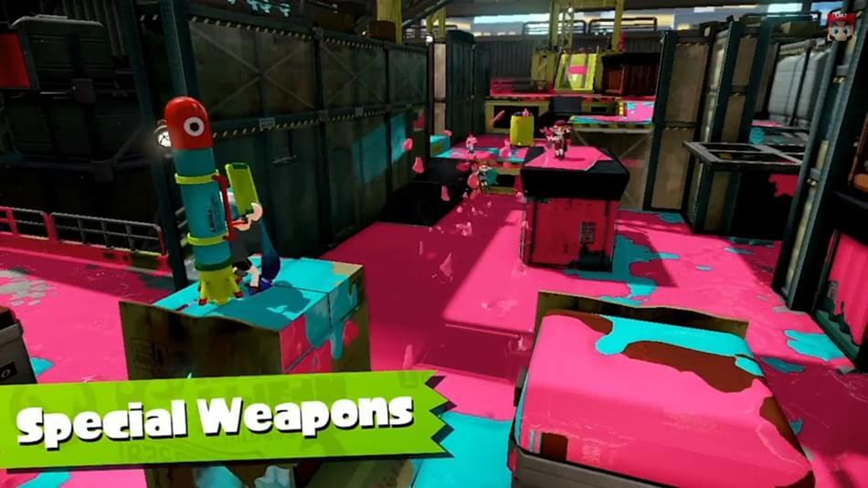 Splatoon pinta em maio no Wii U com opção de compra de equipamentos