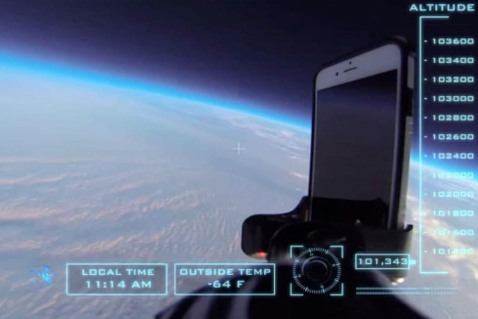 Teste de queda insano: iPhone 6 é derrubado de 30 mil metros de altura