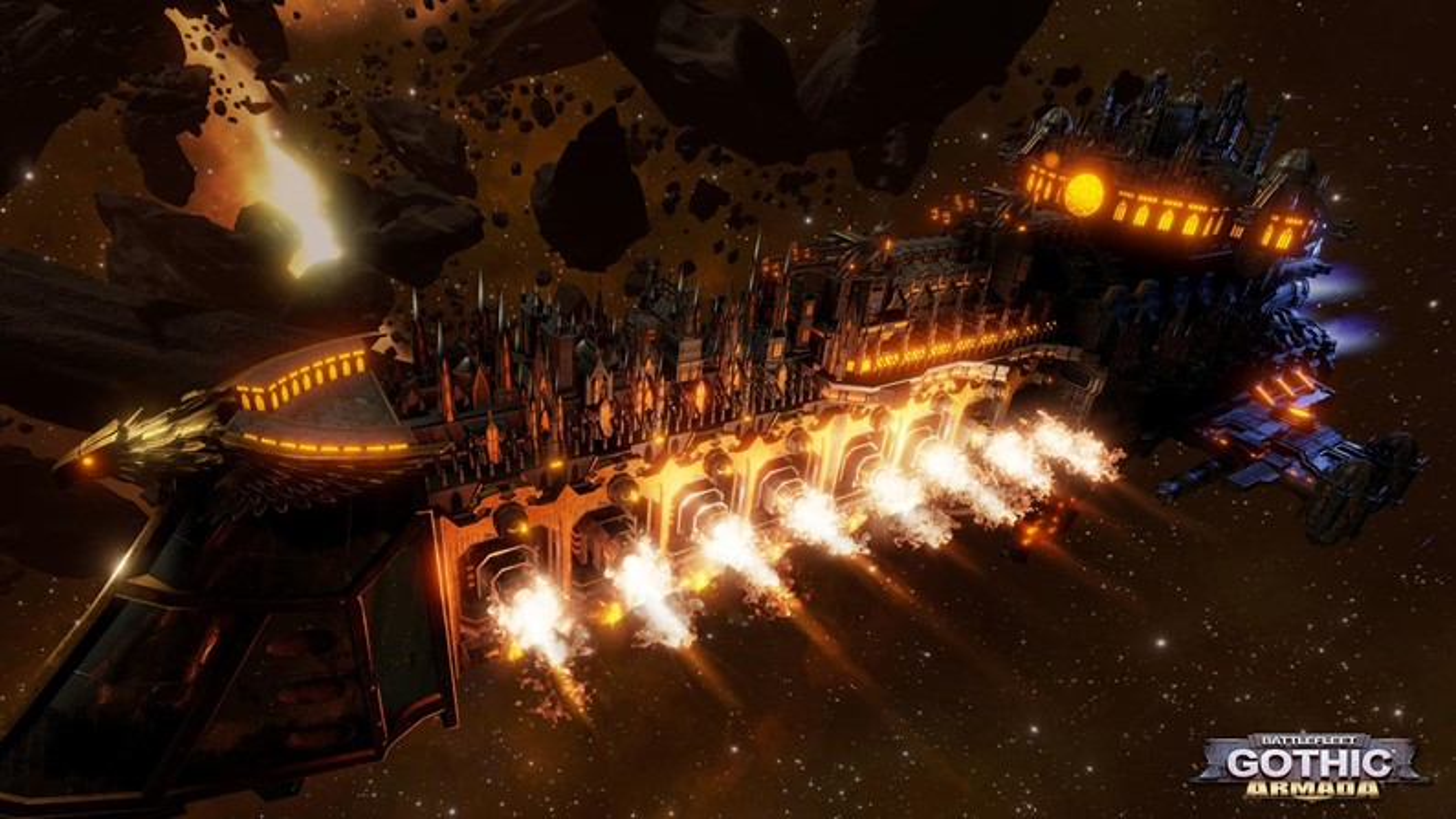 No espaço: Battlefleet Gothic: Armada é RTS que usa Unreal Engine 4