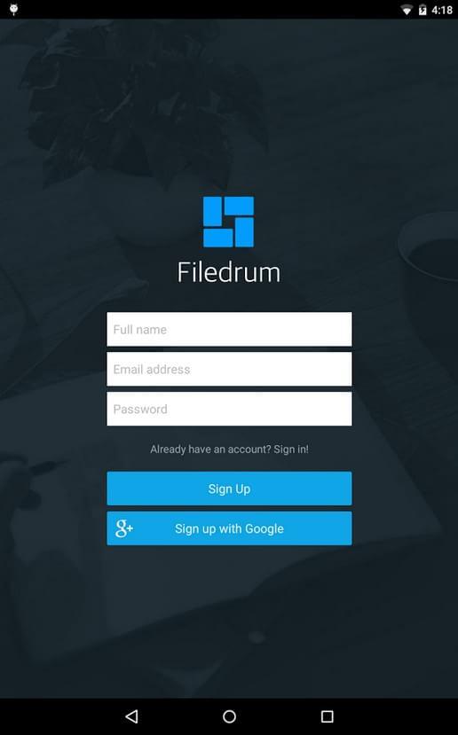 Filedrum - Imagem 1 do software