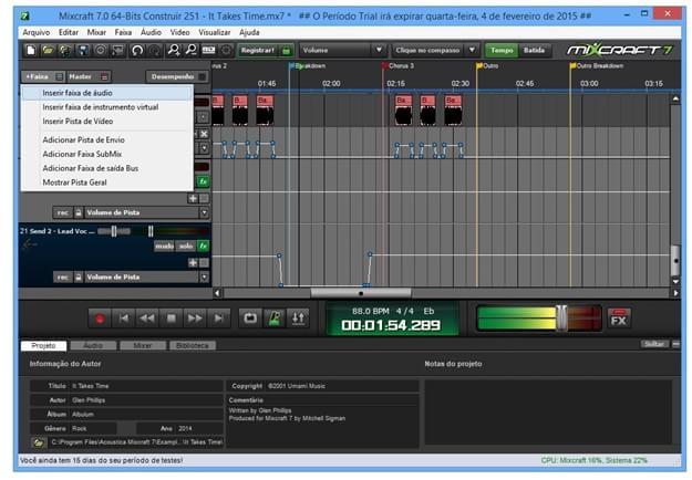Mixcraft Download para Windows em Português Grátis
