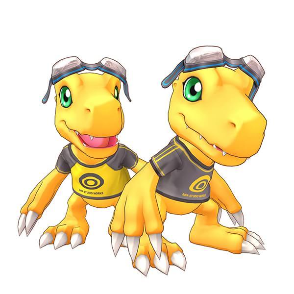 Agumon e temas vêm nas primeiras cópias de Digimon Story: Cyber Sleuth