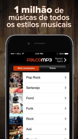 Palco MP3 - Imagem 2 do software