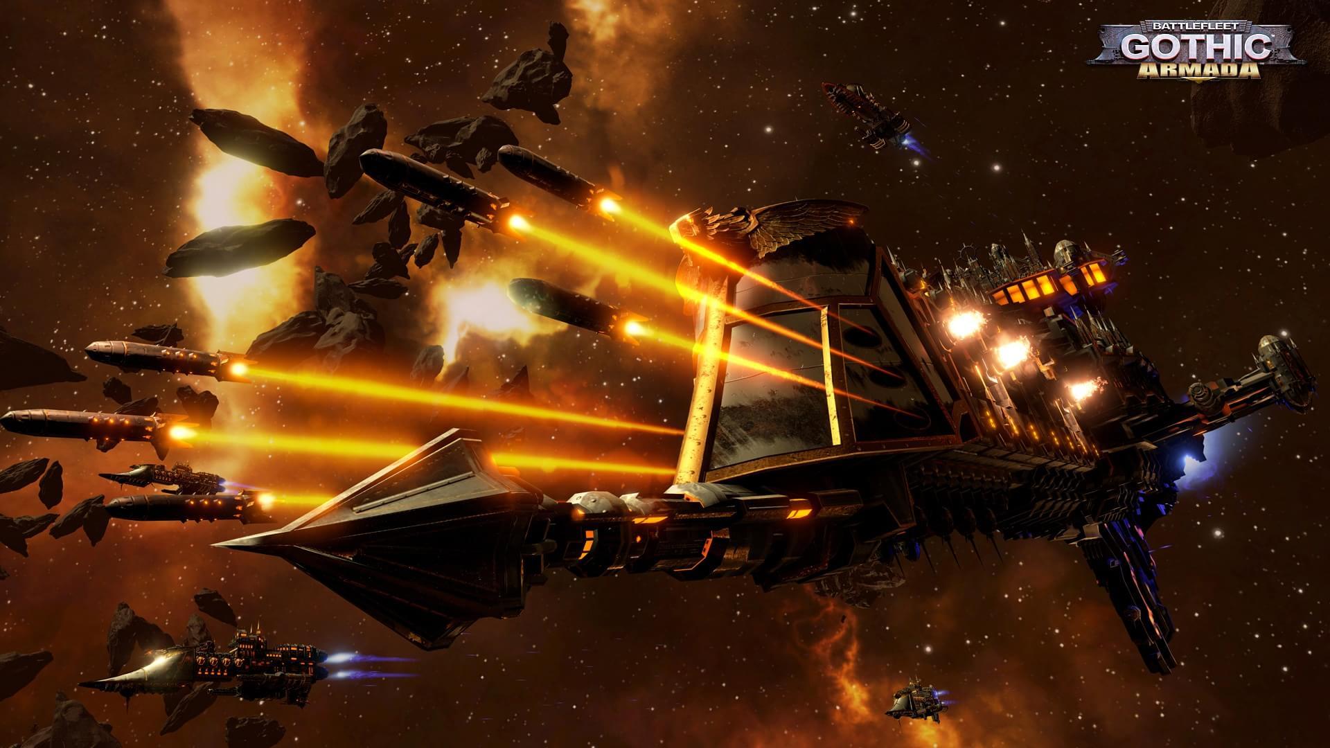 Confira imagens de Battlefleet Gothic: Armada