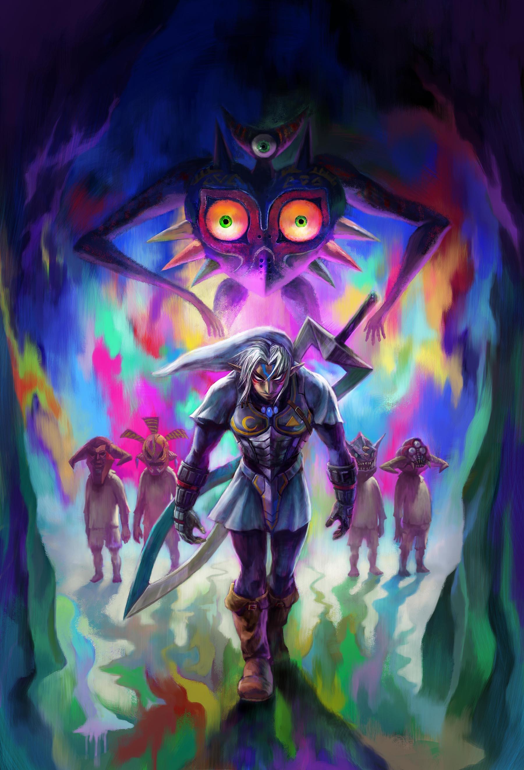 Confira novo trailer e imagens de The Legend of Zelda: Majora's Mask 3D