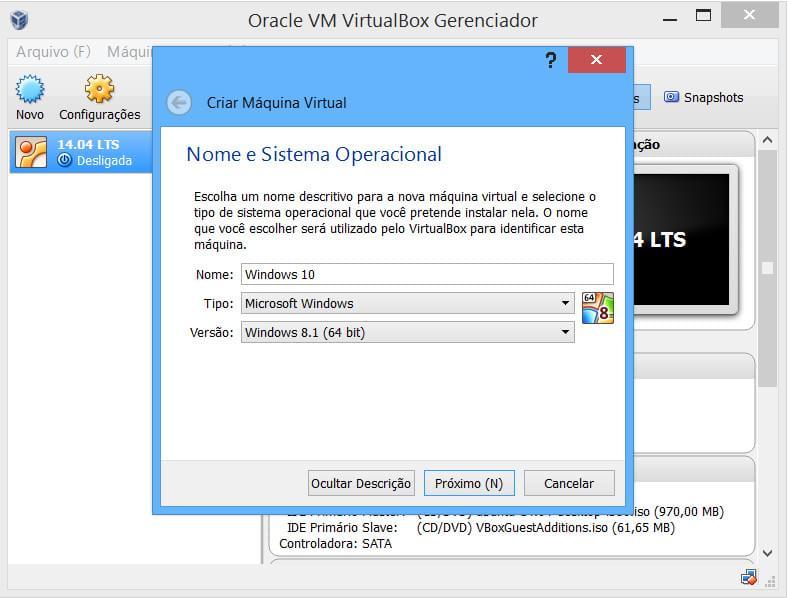 Aprenda a rodar o Windows 10 no VirtualBox de um jeito fácil