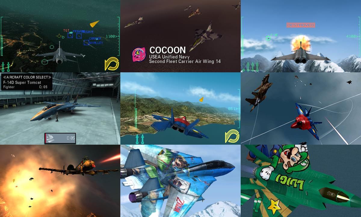 Veja novo video e imagens de Ace Combat: Assault Horizon Legacy + para 3DS
