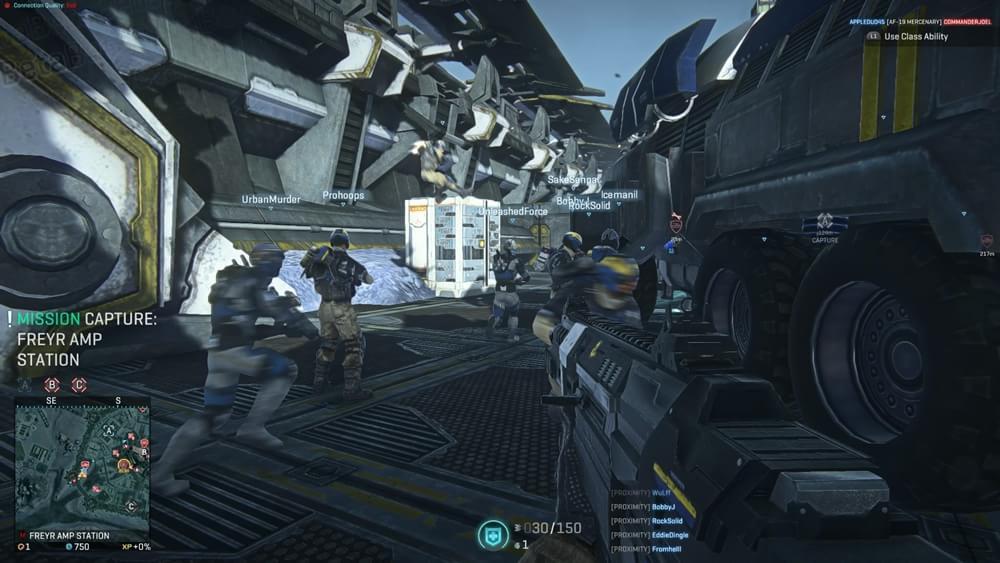 Novas screenshots e videos mostram Beta fechado de Planetside 2 no PS4