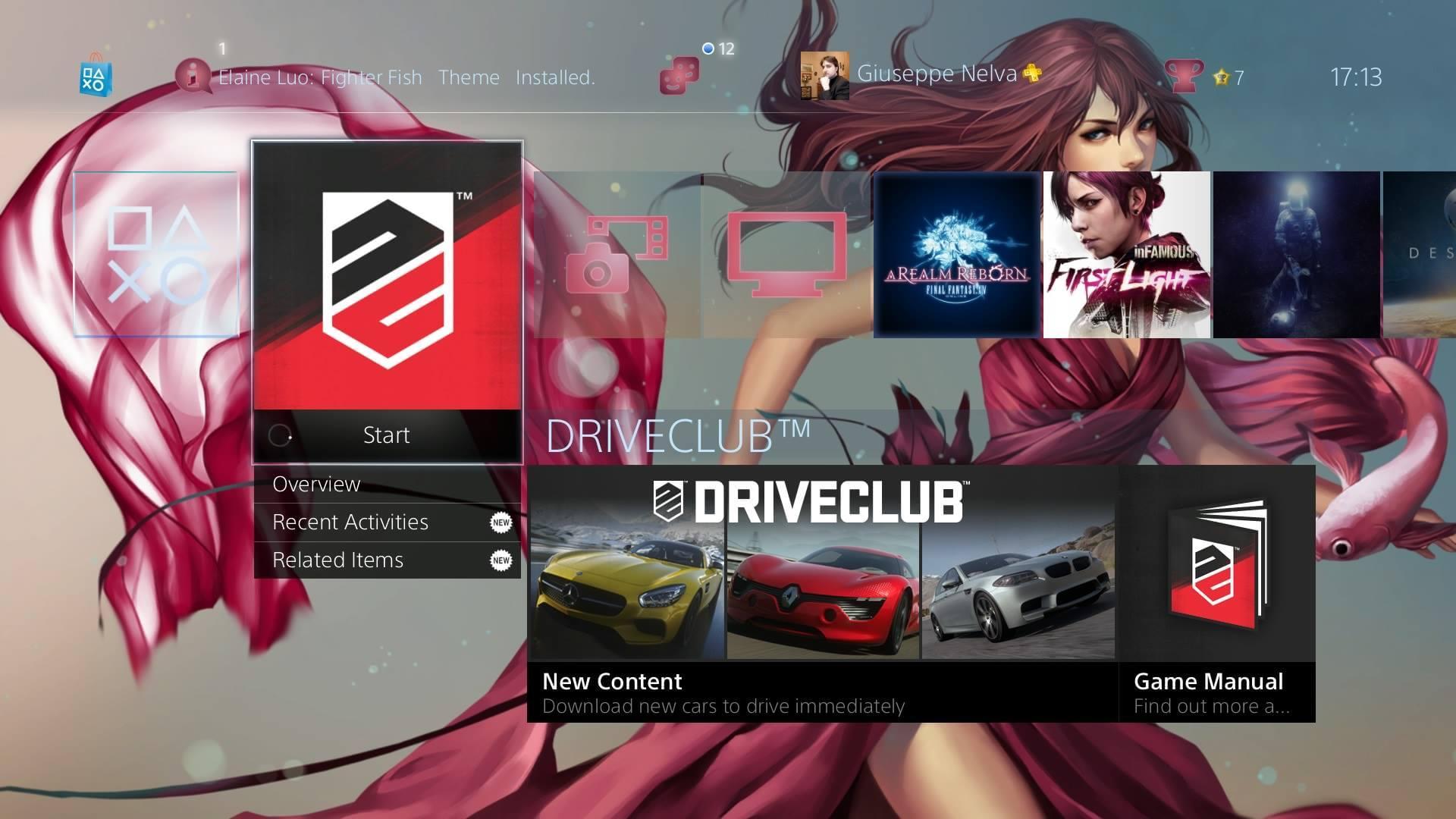 PlayStation 4 recebe 14 novos temas dinâmicos e estáticos [galeria]