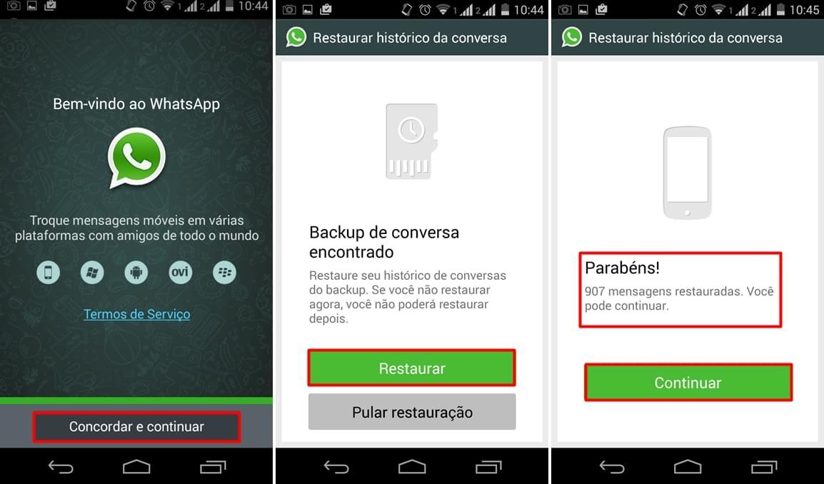 ¿Cómo recuperar mensajes de WhatsApp más recientes?