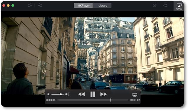 5kPlayer - Imagem 1 do software