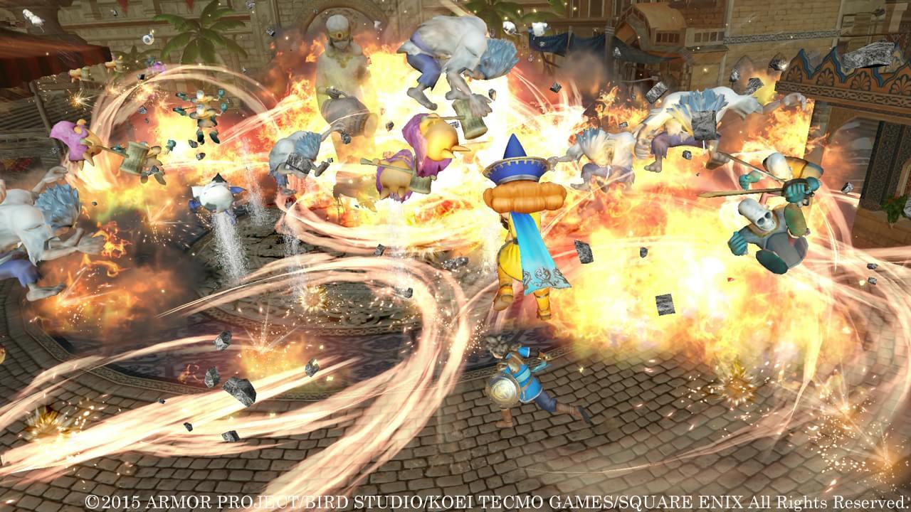 Veja os personagens Kiryl e Alena na nova galeria de Dragon Quest Heroes