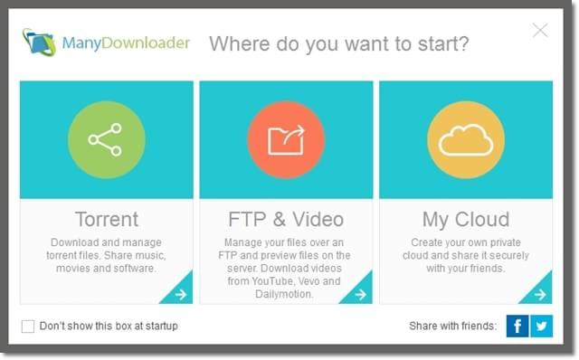 ManyDownloader - Imagem 1 do software