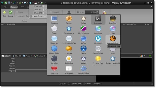 ManyDownloader - Imagem 3 do software
