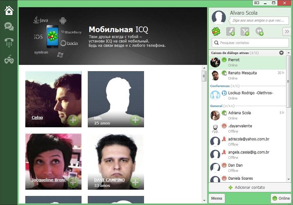 ICQ - Imagem 1 do software